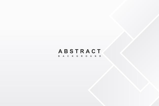 Forma geométrica de fundo branco abstrato