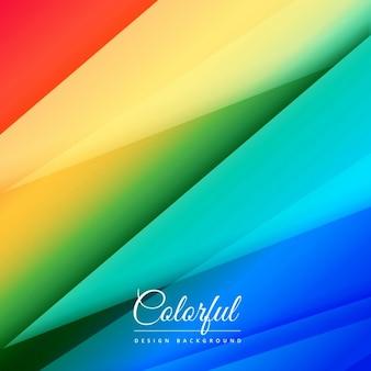 Formas abstratas coloridas fundo