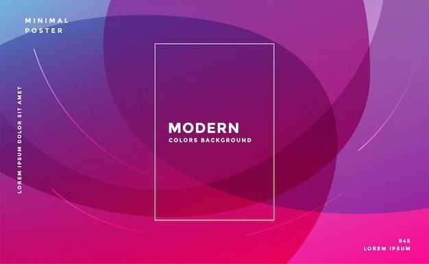 Formas abstratas de fundo moderno com transparência