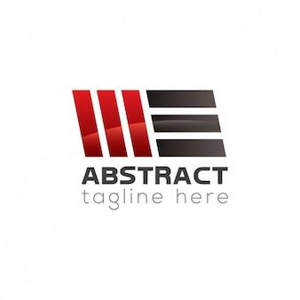 Formas abstratas logotipo