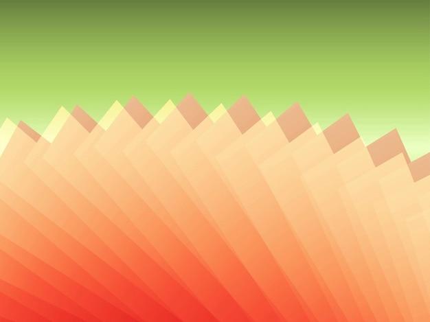 Formas coloridas fundo geométrico