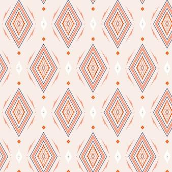 Formas de diamante do modelo de padrão sem emenda de songket