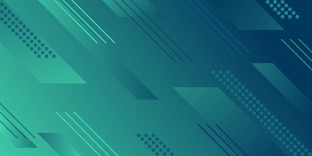 Formas geométricas abstratas fundo gradiente