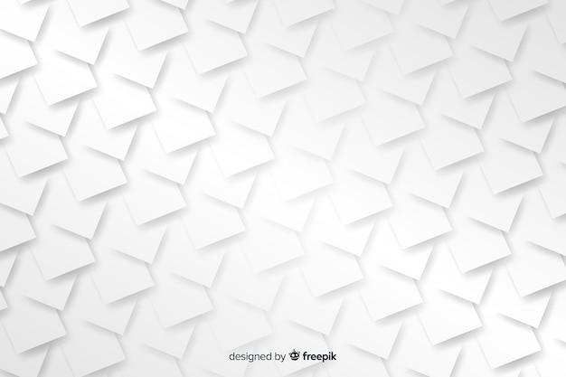 Formas geométricas em estilo de papel