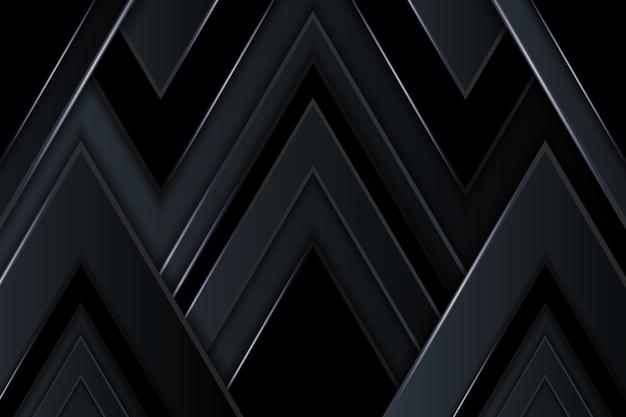 Formas geométricas em fundo escuro