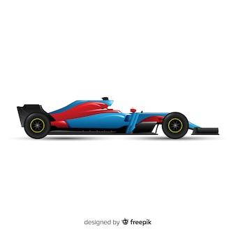 Fórmula moderna 1 design de carro de corrida