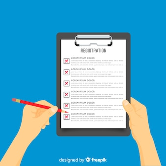 Formulário de registro