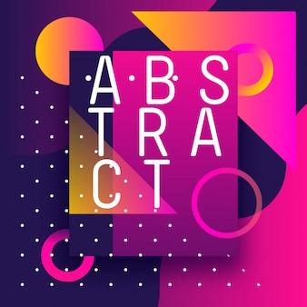 Formulários e gradientes de design abstrato de inspiração