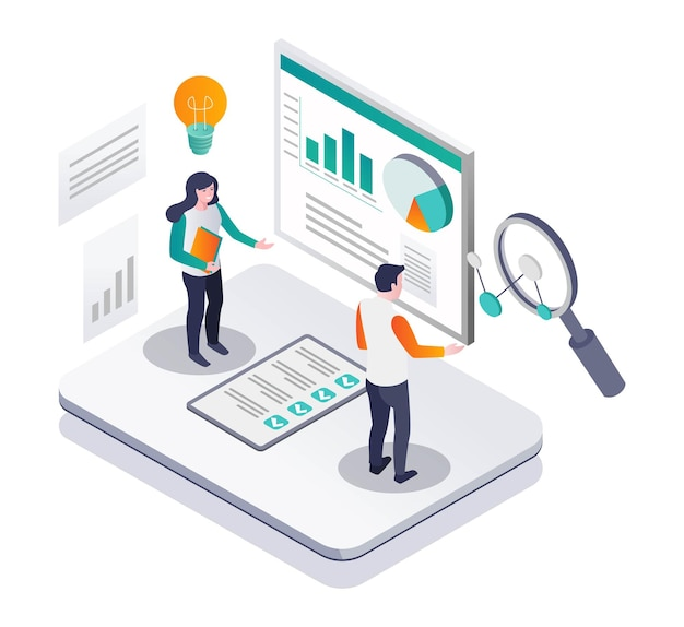 Fornece ideias para dados de análise de negócios