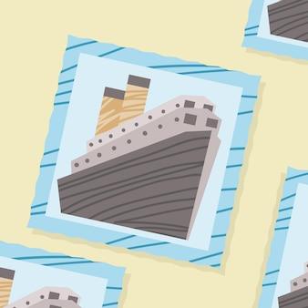 Fotografia de viagem de navio