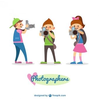 Fotógrafos crianças