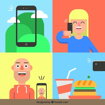 Fotos de telefonia móvel
