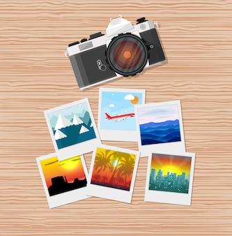 Fotos de viagem com a câmera
