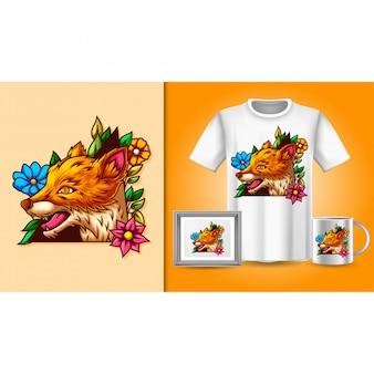 Foxt-shirt e merchandising
