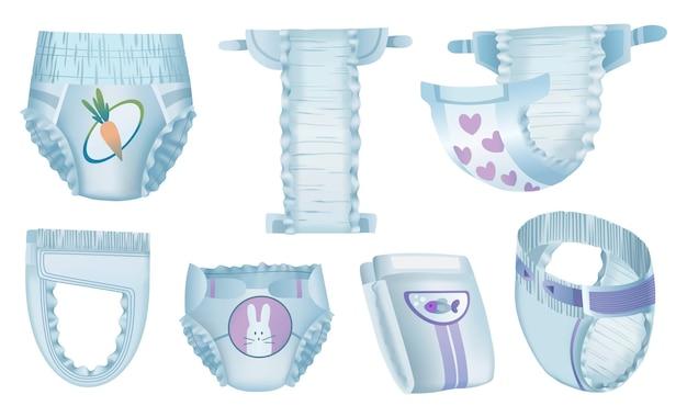 Fraldas absorventes para bebês