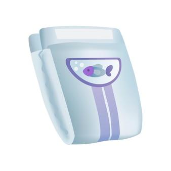 Fraldas confortáveis para incontinência em camadas macias para a limpeza de crianças recém-nascidas