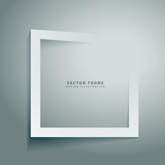 Frame abstrato limpo