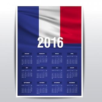 França calendário de 2016