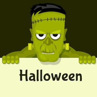 Frankenstein possui pôster de halloween