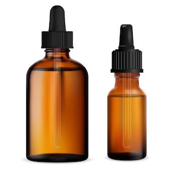 Frasco conta-gotas broun frasco conta-gotas com óleo essencial