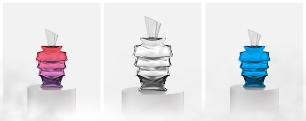 Frasco de perfume lindo