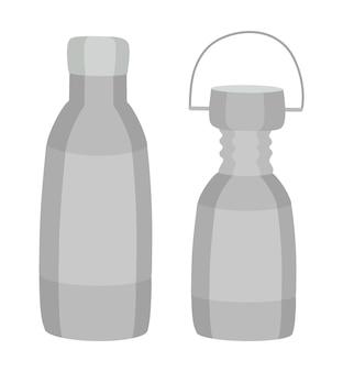 Frasco de vidro de desperdício zero