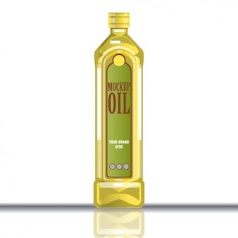 Frasco do petróleo