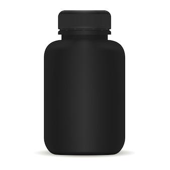 Frasco plástico para medicamentos
