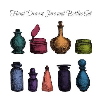 Frascos e garrafas vintage
