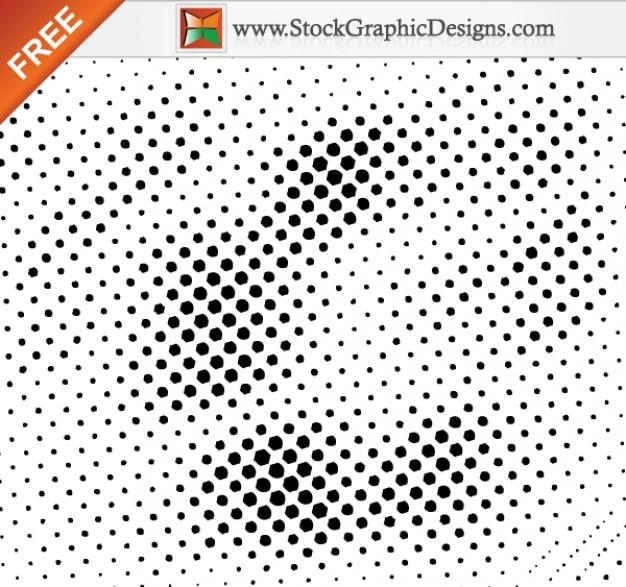 Free design elements halftone vector