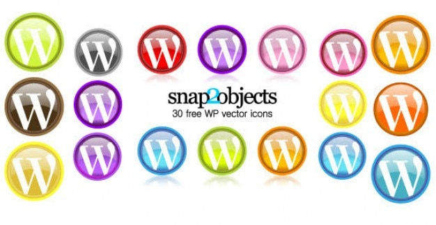 Free wordpress vector icons