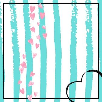 Fronteira de casamento. capa premium. efeito romântico dourado. conceito de festa de listra. papel de parede escandinavo. rose elegante starburst. partículas de dezembro de hortelã. borda de casamento rosa