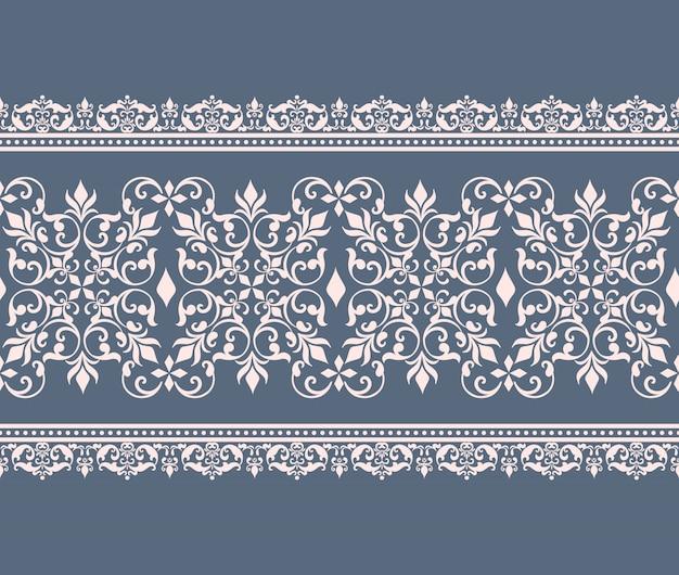 Fronteira de damasco padrão