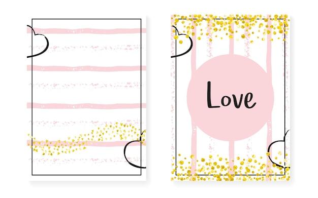 Fronteira de luxo. efeito de marca turquesa. impressão na moda dourada. partículas rosa elegantes. partícula de casamento branco. elemento mint. conjunto de ilustração de ano novo. fronteira de luxo listrada