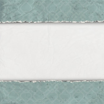 Fronteira de papel velho rasgado