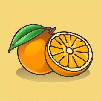 Fruta laranja