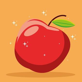 Fruta maçã comidas frescas