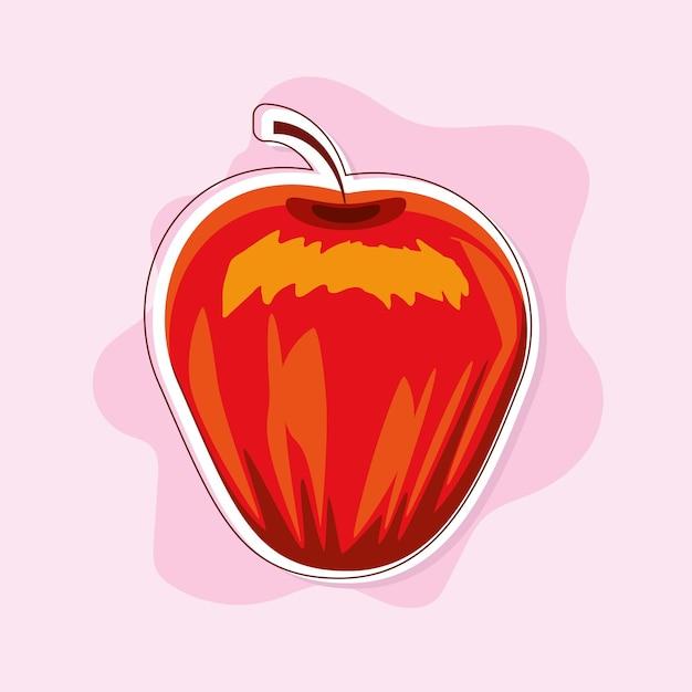 Fruta maçã fresca