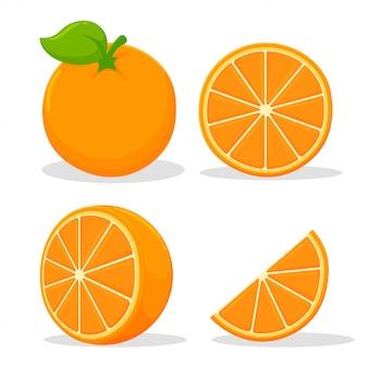 Frutas cítricas com alto teor de vitamina c. azedo, ajudando a sentir-se fresco.