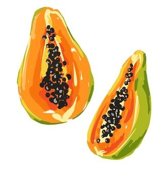Frutas de mamão