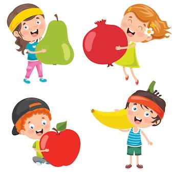 Frutas frescas para uma alimentação saudável