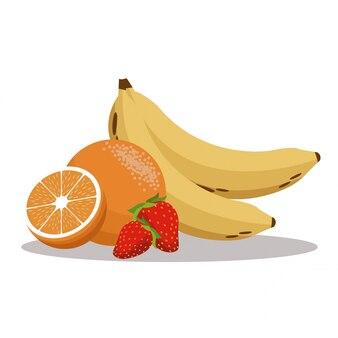 Frutas nutritivas saudáveis