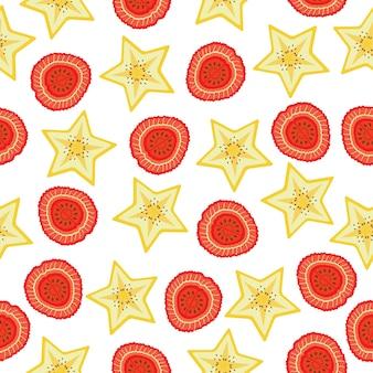 Frutas padrão design