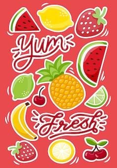 Frutas suculentas