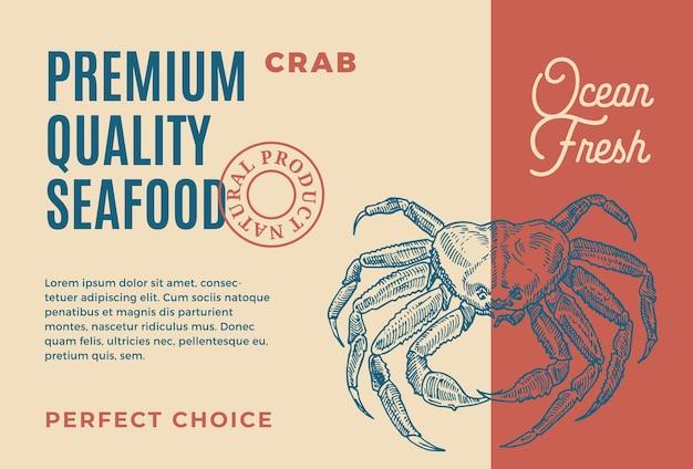 Frutos do mar de qualidade premium