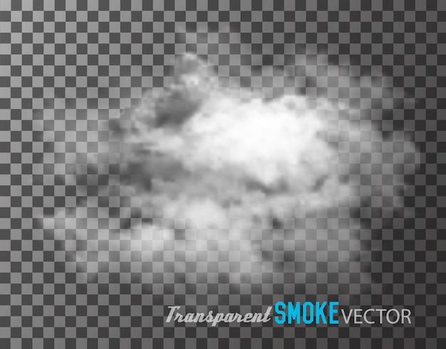 Fumaça transparente.