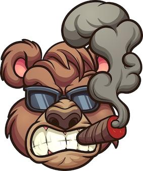 Fumando urso