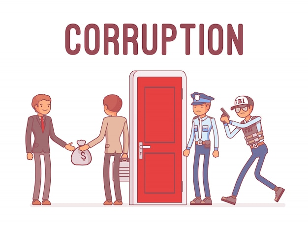 Funcionários presos em caso de corrupção