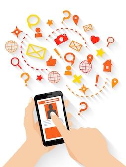 Funções de um aplicativo móvel