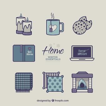 Fundamentos casa de inverno